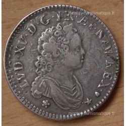 Louis XV 40 sols de Strasbourg 1716 BB