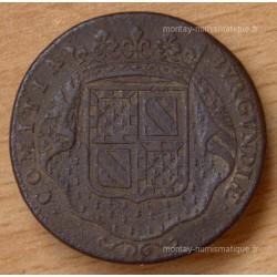 Jeton des Etats de Bourgogne 1722