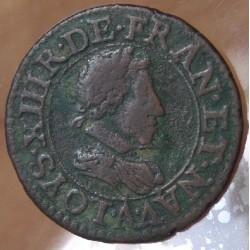 Louis XIII Double tournois 1621 A Paris