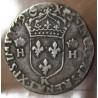 Demi-teston François II au nom d'Henri II 1559 K Bordeaux