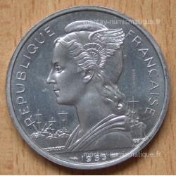 Madagascar 5 Francs 1953 Essai