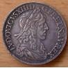 Louis XIII 1/2 Ecu 1642 A 2 points 1er poinçon de Warin