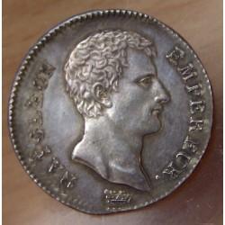 1 Franc Napoléon Empereur AN 12 A Paris