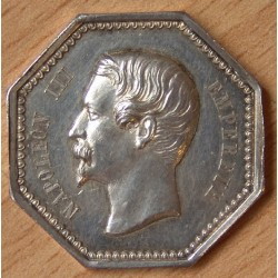 Jeton Napoléon III Notaires de Bourges ND