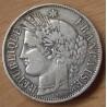 5 Francs Cérès sans légende 1870 K étoile 4h00
