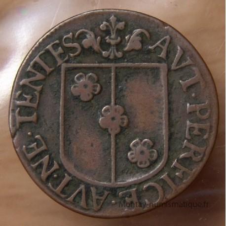 Jeton Besançon 1665 Buson de Champsdivers