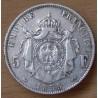5 Francs Napoléon III Empereur 1855 D Lyon