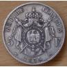 5 Francs Napoléon III 1855 A Paris