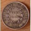Demi Franc tête de nègre 1807 A Paris PREMIER EMPIRE