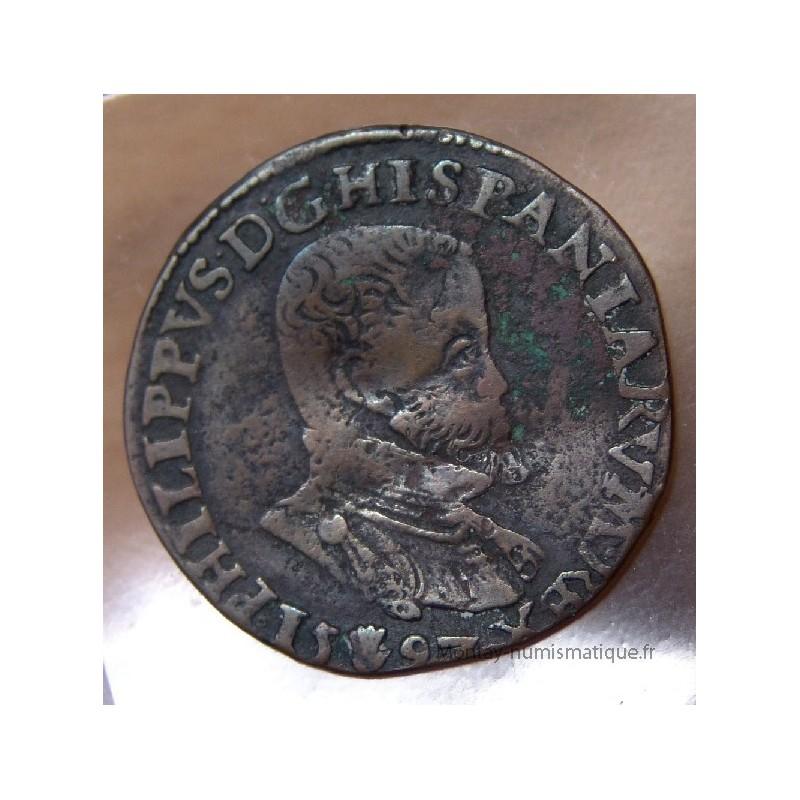 jeton philippe ii 1593 bureau des finances montay numismatique. Black Bedroom Furniture Sets. Home Design Ideas