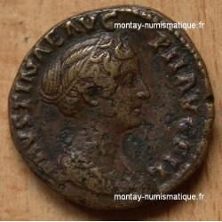 Faustine Jeune Dupondius VENUS +148/152 Rome