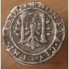 Charles Quint, 2 Gros ou 1/4 de Teston 1624 besançon