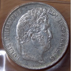 5 Francs Louis Philippe 1839 BB Strasbourg