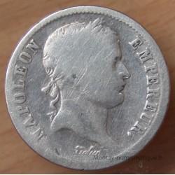 2 Francs Napoléon I revers Empire 1814 A Paris