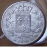 5 Francs Louis XVIII buste nu 1820 B Rouen