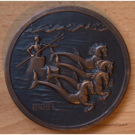 Armée - Médaille Amphibie Sous-Marin Marine française