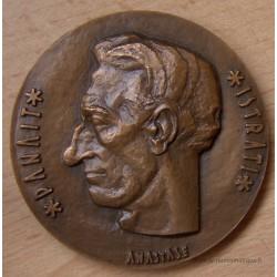 Médaille PANAIT ISTRATI écrivain Roumain Les Chardons du Baragan