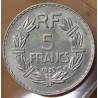 5 Francs Lavrillier Nickel 1933