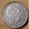 5 Francs Louis Philippe 1845 W Lille