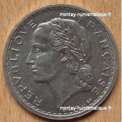 5 Francs Lavrillier Nickel 1938