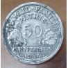 50 Centimes Bazor 1943 B ( Beaumont le Roger).