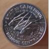 Cameroun 100 francs Antilopes 1966 Essai