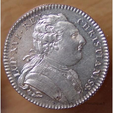 Jeton Louis XVI Notaires Royaux d'Orléans ND