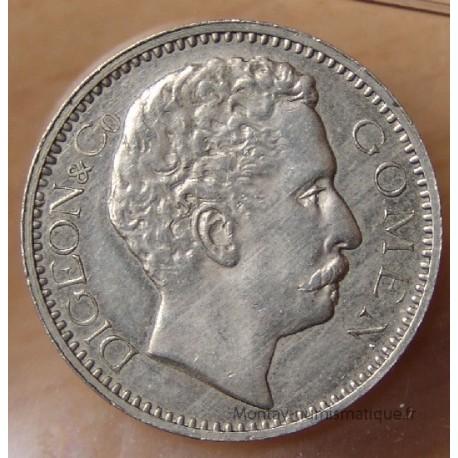 Nouvelle-Calédonie 5 Francs Ville de GOMEN 1882 sans CT