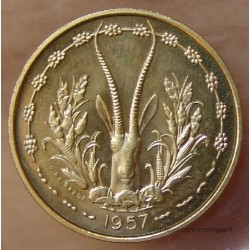 TOGO 25 francs 1957 Essai Afrique Occidentale Française