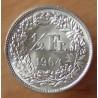 Suisse 1/2 Franc 1964 B