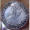 Louis XIV Ecu de Navarre 1653 Saint-Palais à la mèche longue