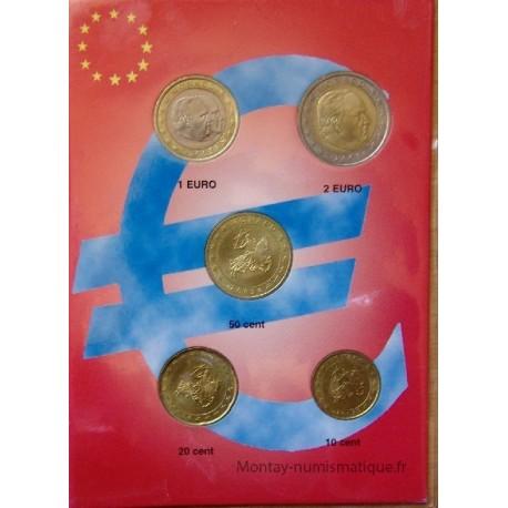 Monaco - Série 5 monnaies 2003