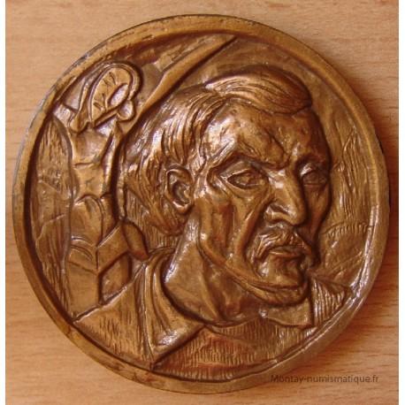 Médaille Paul GAUGUIN Jésus et Polynésie