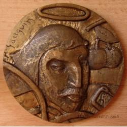 Médaille Paul GAUGUIN Les Seins aux fleurs rouges.
