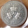Île de Man 1 Crown Elisabeth II 1977 jubilé d'argent.