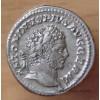 Caracalla Denier + 215 Rome - La Fidélité.