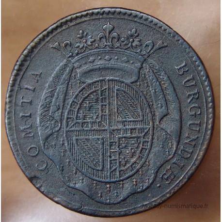 Jeton Etats de Bourgogne 1735 élection roi de Pologne