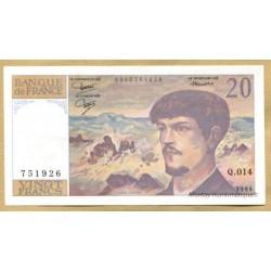 20 Francs Debussy 1984 Q.014