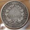 5 Francs Napoléon I 1807 A Paris République Française