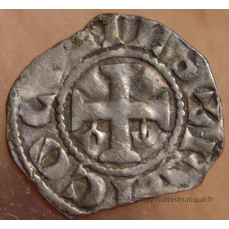 Foulques IV Denier Angers ND (1160-1190). Comté d'Anjou.