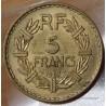 5 Francs Lavrillier 1947 bronze aluminium