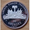 République d'HAITI 10 Gourdes 1971 Geronimo Chiricahua proof