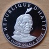République d'HAITI 10 Gourdes 1971 Red Cloud Oglala Sioux proof