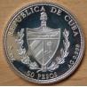CUBA 50 Pesos 1990 Christophe Colomb, 500 ème Anniversaire - Découverte de l'Amérique.