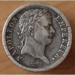 Napoléon I Demi Franc République 1808 W Lille