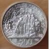 Italie 500 lire 1992 Rome - Ve centenaire de la découverte de l'Amérique.
