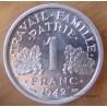 1 Franc Bazor 1942 Essai