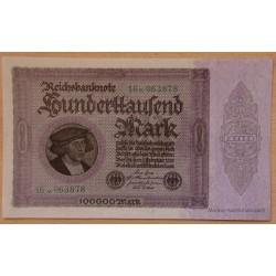 Allemagne - 100000 Mark 01 février 1923 Reichsbanknote