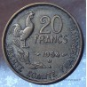 20 Francs G.Guiraud 1954 B Beaumont-Le-Roger