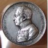 Médaille du préfet du Rhône - Baron de Vincent 1851 .